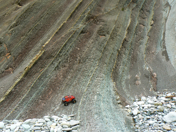 Flysch layers